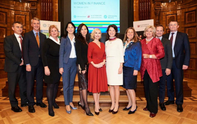 "Moderation der CFA-Society-Veranstaltung ""Women in Finance"""