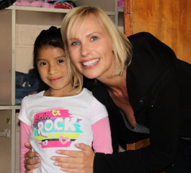 Elena, my godchild from … SOS-Kinderdorf in Guatemala